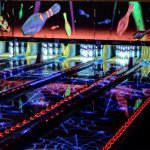 Fantasy Lanes Bowling Center has 24 state-of-the-art lanes featuring late night laser bowling.