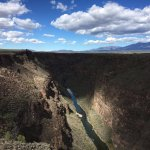 Rio Grande gorge bridge just outside of Taos on US 64.