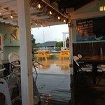 Raining night dining