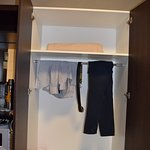 Wardrobe without clothes hanger!