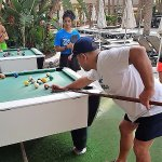 pool,,,,near pool, also archery, french bouls,,shuttle board, lots of games