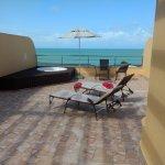 terraza con hidro espectacular