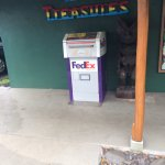 FedEx....in a one gas station town (really)