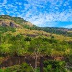 Koroyanitu heritage park - looking at the trail trek that leads to Mt Batilamu