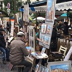 artists of Monmartre
