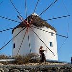 Windmills of Kato Mili on Mykonos