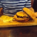 Happy Hour burger