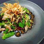 Roasted Duck Salad from our Spring lunch menu