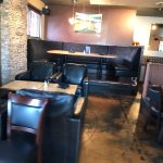 Interior view of restaurant, Fluid Bar and Grill, 1175 Cliffe Ave, Courtenay, BC