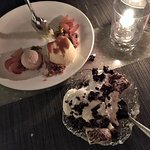 Amazing desserts at Cavatina