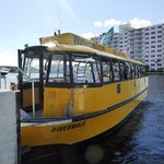 Our water taxi who was rude on November 7, 2017