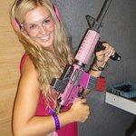 Barbie guns