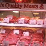 Lots of RED Meats at Reading Terminal Market