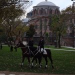 Inside the grounds of Topkapi Palace, Sultanahmet District, Istanbul 8/11-2017.