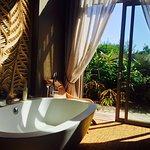 Most romantic bath experience