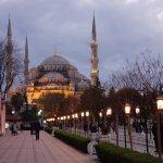 The grandiose Blue Mosque, Sultanahmet District, Istanbul 7/11-2017.