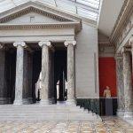 A temple fasade in Glyptoteket