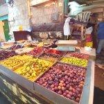 Machne Yehuda Market - pickles stand