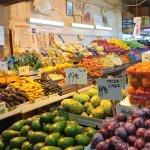 Machne Yehuda Market - vegetable stand