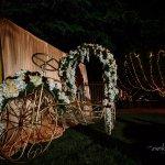 The decorative photo cycle rickshaw