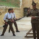 Ayton and bayonet display