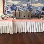Breakfast drinks table