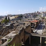 Overview at Herculaneum entry viaduct
