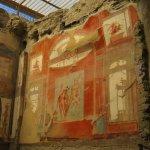 Frescoes in College of Augustus, Herculaneum