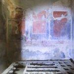 Roman bed at Herculaneum