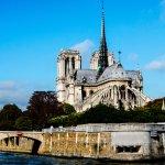 Catedral Notre Dame desde el barco