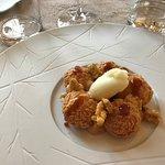 Paris Brest à la glace de bergamote et cacahuètes 🥜
