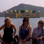 With my friends in Jal Mahal