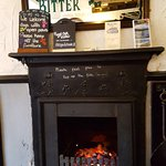 The warmest fire place in Bowness