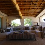 Lounge mit Fernrohr