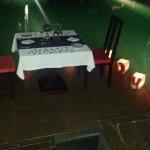 Cena especial para enamorados y propuestas de casamientos