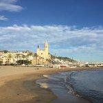 La Playa de Sitges Foto