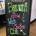 Cooler weather heralds the return of our delicious Brunswick Stew and White Chicken Chili.