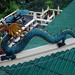 Dragon statue at Taoist Temple