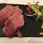 Salt Beet plate from Reuben's Restaurant 26.95