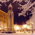 Centerway Square in lovely downtown Corning is a Winter wonderland!