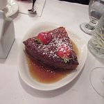 Maple cake dessert