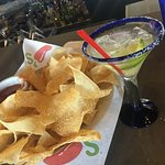 Great specials on Thursday- $5 President (top shelf) margaritas! If you sit at the bar, they giv