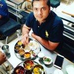Delicious Gujrati Thali amazing taste
