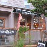 Outside of BlackRock Bistro