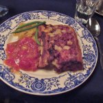 St. Jean meat pie with wild meats