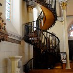 Loretto Chapel spiral staircase turns two complete 360 degree turns.