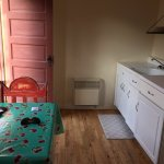 with small kitchen