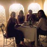 In Khandela Haveli dinning on the terrace