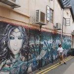 Murals along Arab Street