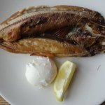 The Stornoway kipper that I had for breakfast! It was EXCELLENT!